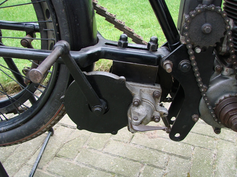 Omega 350cc 2-stroke - around 1923
